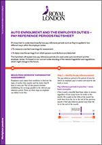 Pay reference period factsheet