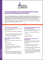 Identifying workers factsheet